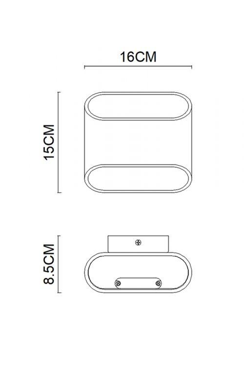 Concept 150 Elliptic Wall Lamp
