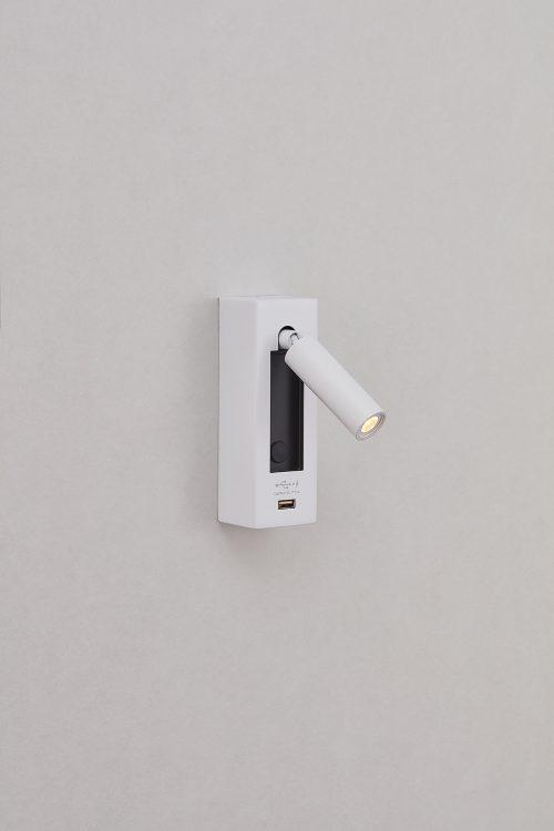Dida Raised Wall Lamp + USB
