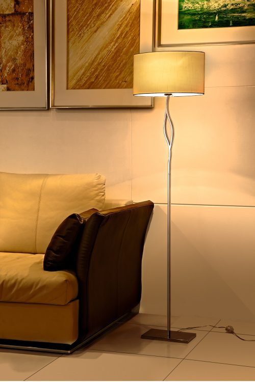 Fusion Floor Lamp with Shade