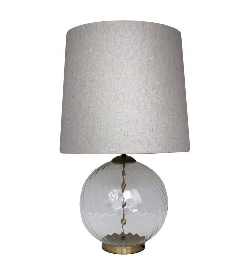 Chloe Glass Table Lamp