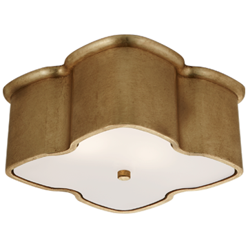 Bolsena Clover Flush Mount in Gild