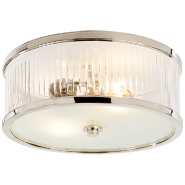 Randolph Large Flush Mount in Polished Nickel