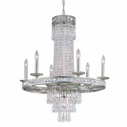 Crystal Chandelier 12 Light