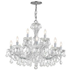 Maria Theresa 12 Light Crystal Chandelier