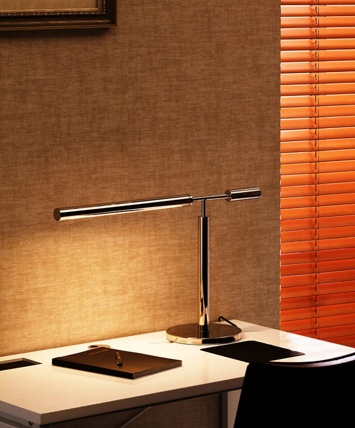 Ideal  Round LED  Table Lamp