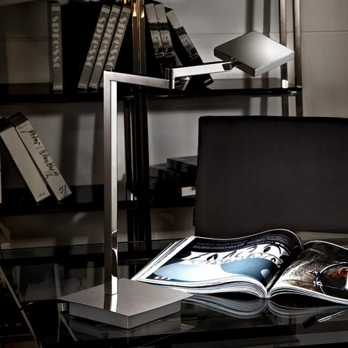Solo Square LED Swing Table Lamp