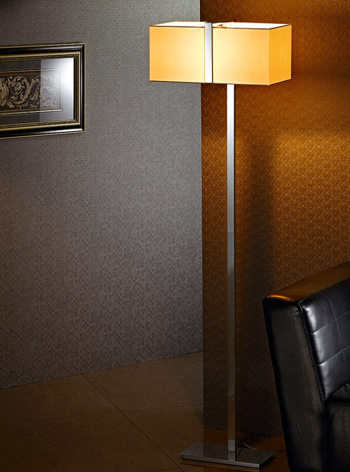 Accord Floor Lamp with Shade