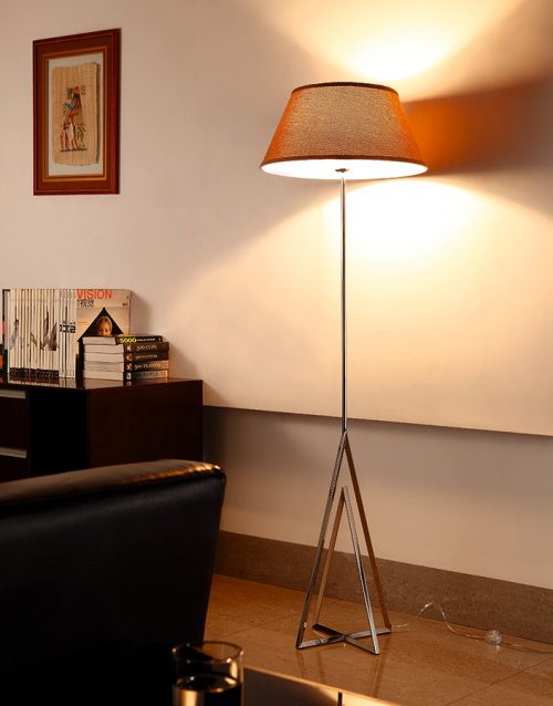 Apollo Floor Lamp with Shade