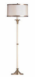Cavendish Gold Floor Lamp with Shade