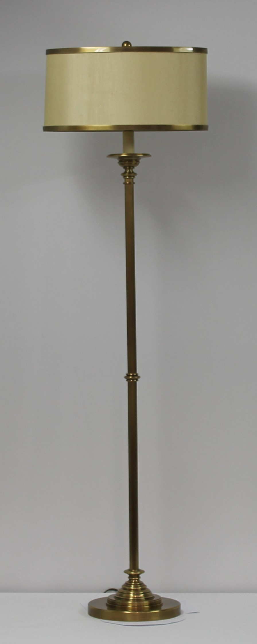Cavendish Gold Floor Lamp With Shade Eunice Taylor Ltd