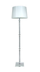 Charlotte Floor Lamp with White Shade