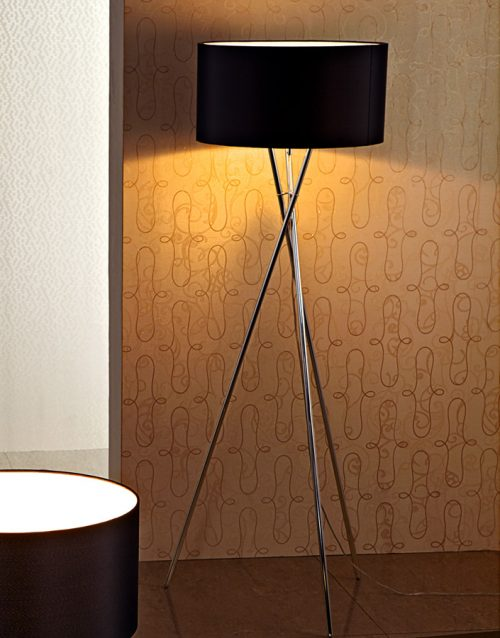 Columbus  Floor Lamp with Shade