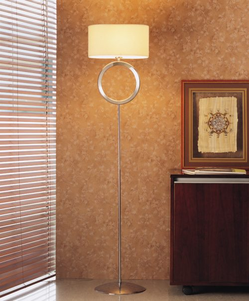 Delta  Floor Lamp with Shade