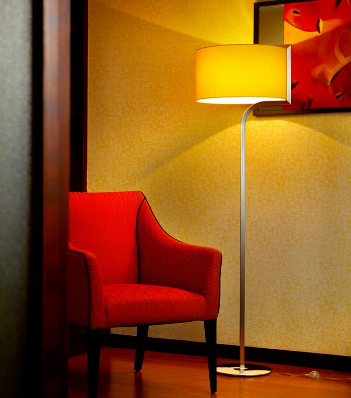 Empire Floor lamp with Shade