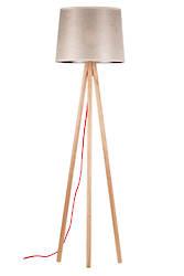 Fiji Tripod Floor Lamp with shade