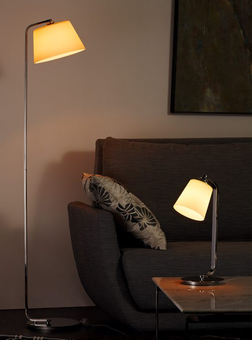 Gental Floor Lamp with Shade