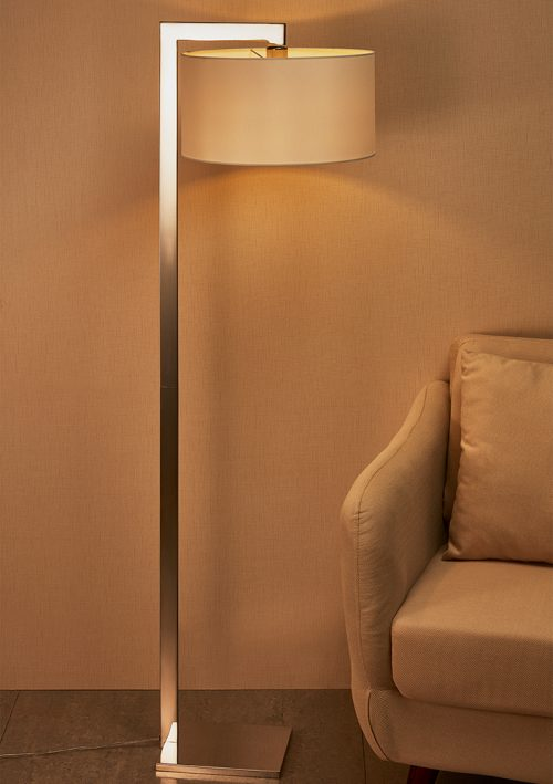 Guard Floor Lamp with Shade
