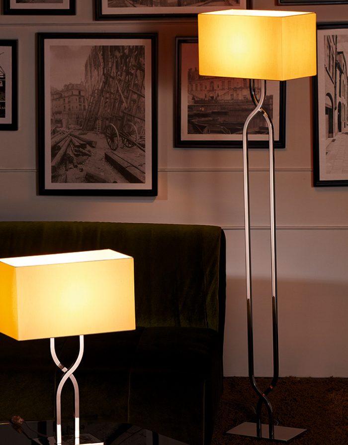Latin Floor Lamp with Shade