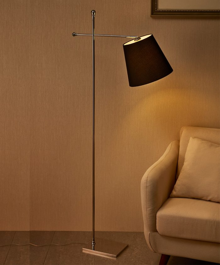 Libra  Floor Lamp with Shade