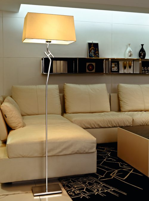 Logic Floor Lamp with Shade