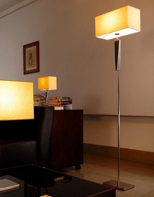 Mansion Floor Lamp with Shade
