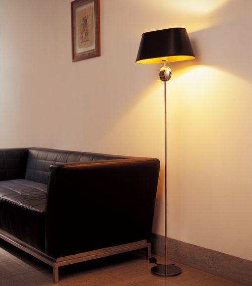 Napoleon 1 Floor Lamp with Shade