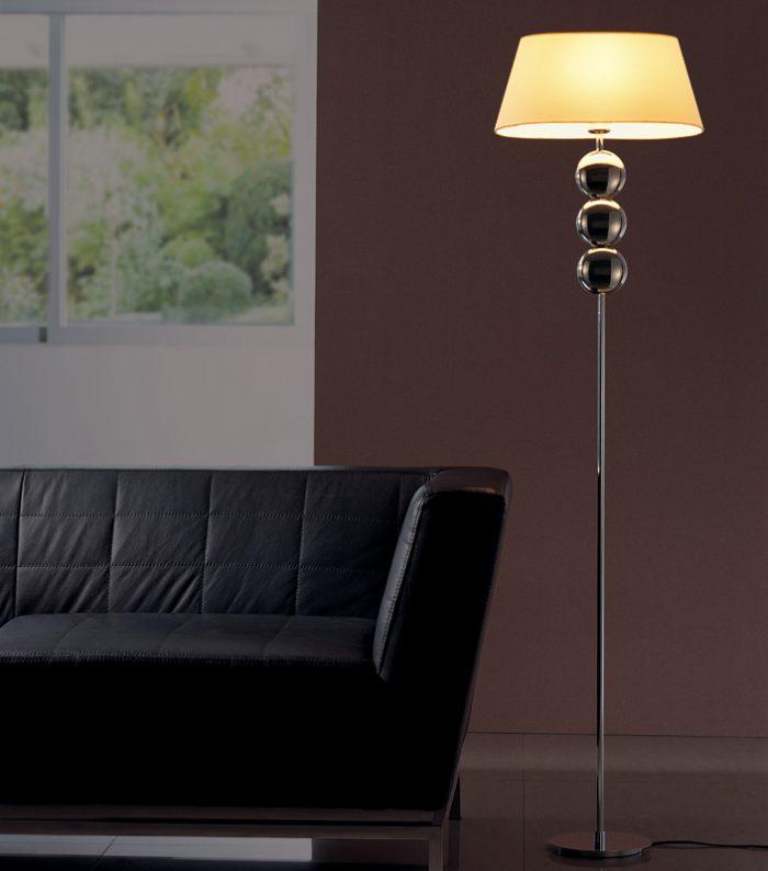 Napoleon 3 Floor Lamp with Shade