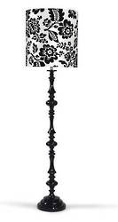 Pedro Black Floor Lamp