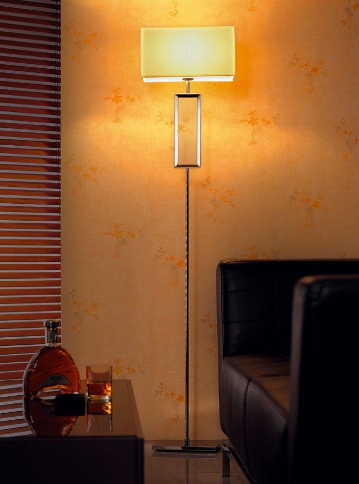 Quadrate Floor Lamp with Shades