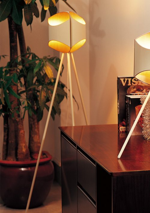 Section Floor Lamp
