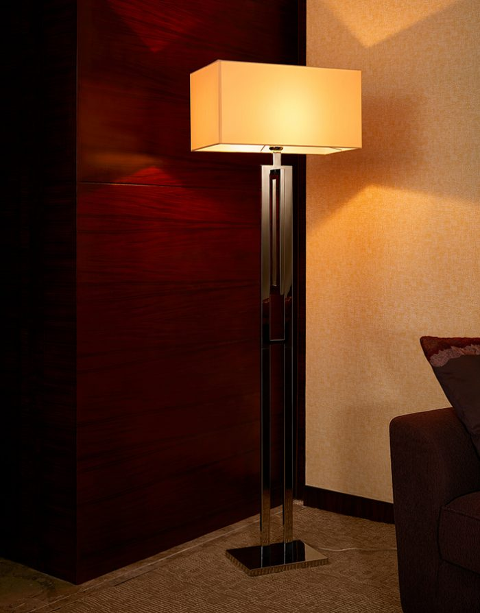 Span Floor Lamp with Shade