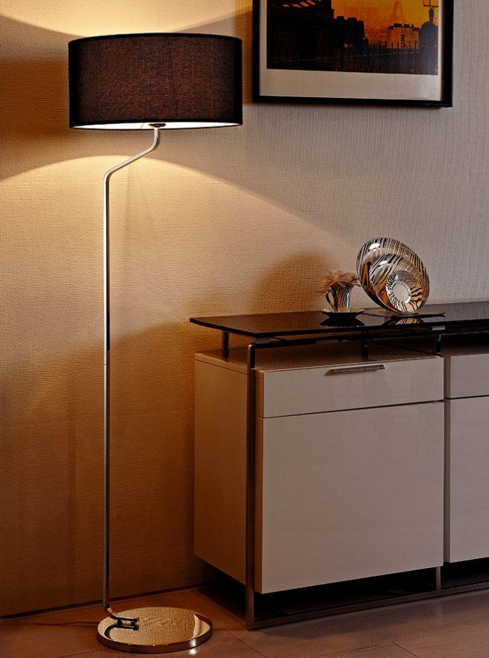Sunday Floor Lamp with Shade
