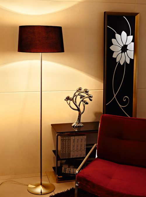 Sunday Floor Lamp with Shade