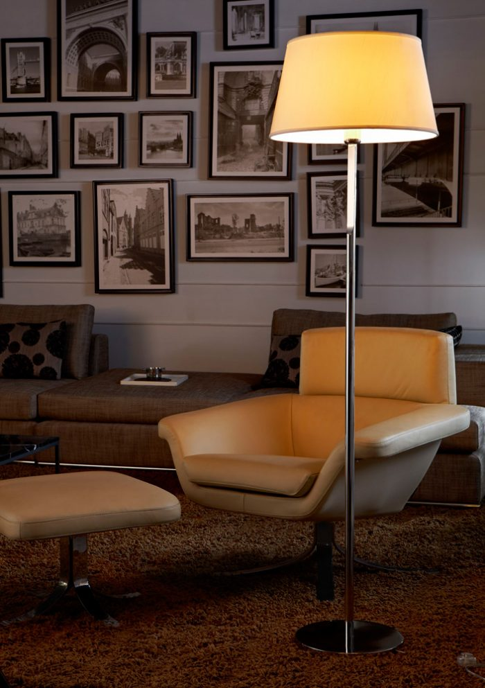 Transition Floor Lamp with Shade