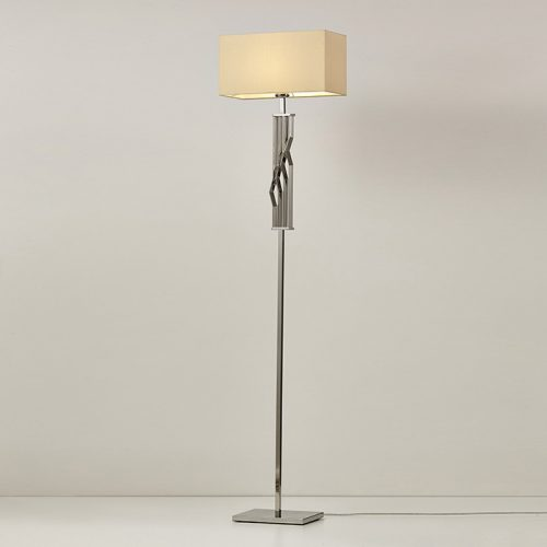 Zig Zag Floor Lamp with Shade