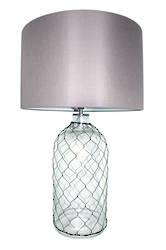 Calypso Glass Table lamp