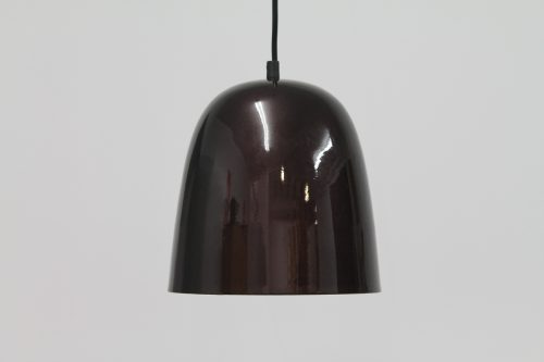 Assam Cone Lacquered Burnished Copper Pendant