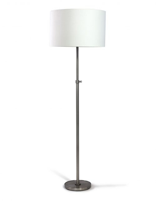 Silvio Silver Floor Lamp