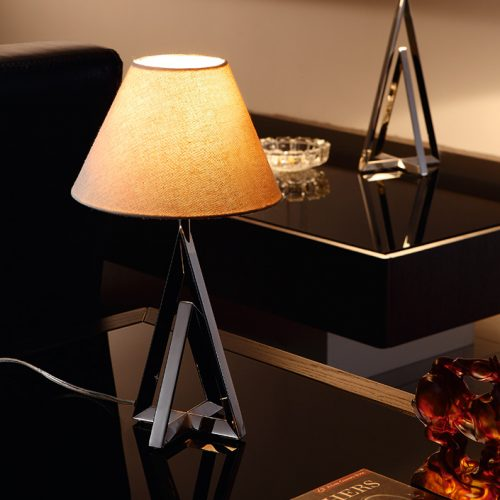 Apollo Mini Table Lamp with Shade