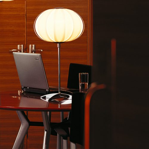 Balloon Table Lamp with Shade
