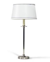 Bodega Antique Silver Table Lamp