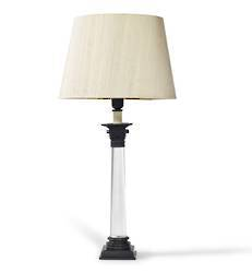 Celestine Bronze Table Lamp with shade