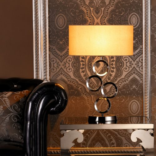 Delta 4 Table Lamp with Shade
