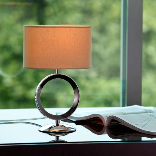 Delta Mini Table Lamp with Shade