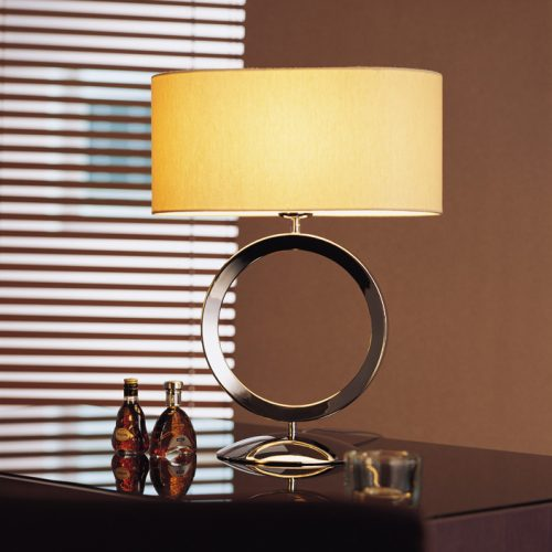 Delta Table Lamp with Shade