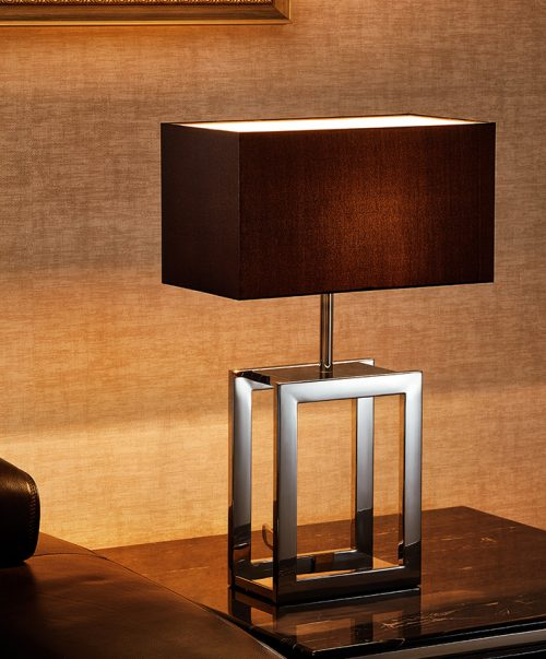 Duo  Table Lamp with Shade