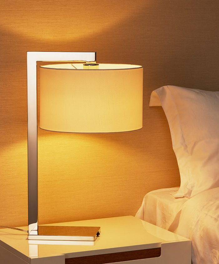 Guard Table Lamp with Shade