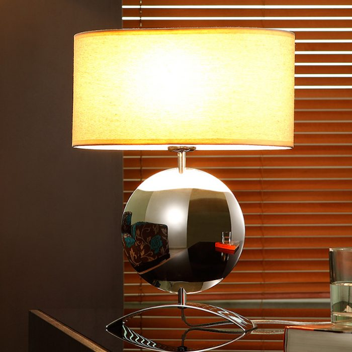 Iris Table Lamp with Shade