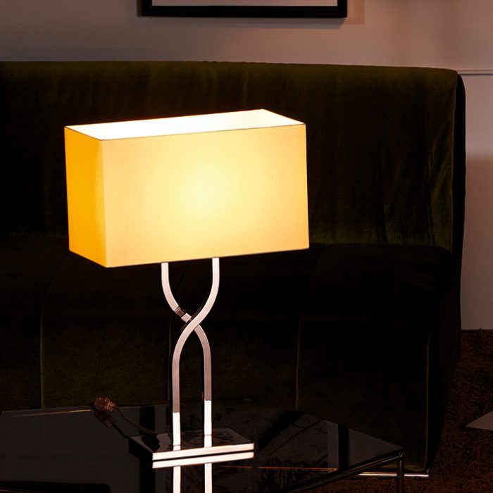 Latin Table Lamp with Shade