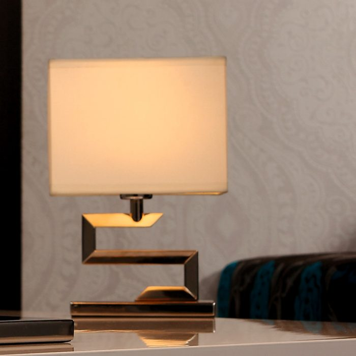 Maze Mini Table Lamp with Shade